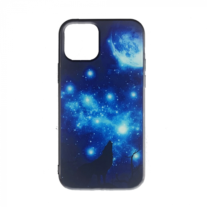 Husa Iphone 11 pro silicon cu sticla lup 0
