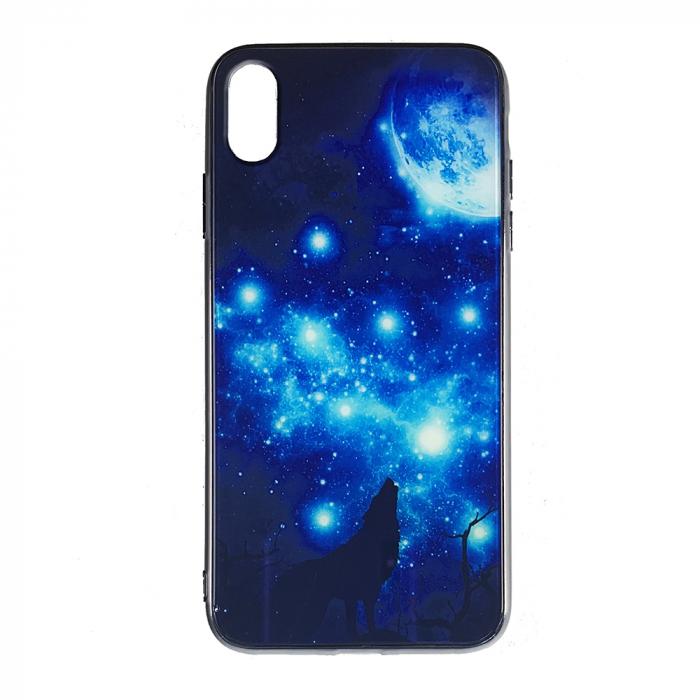 Husa Iphone XS Max silicon cu sticla lup 0