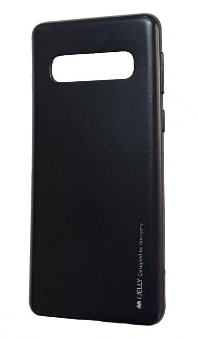 Husa silicon metal  I-Jelly Samsung S10e, Negru 0