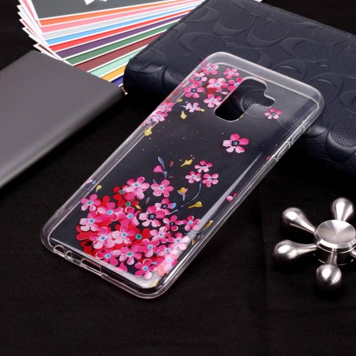 Husa Samsung J6 2018 silicon flori 1
