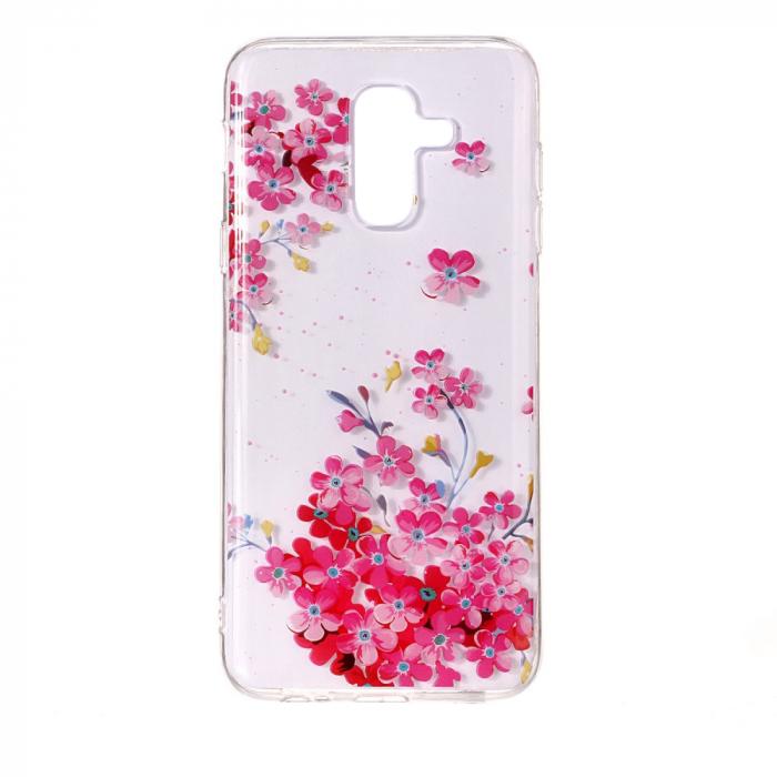 Husa Samsung J6 2018 silicon flori 0