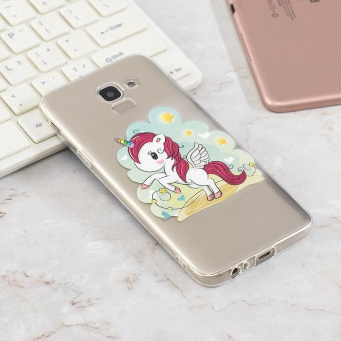 Husa Samsung J6 2018 silicon slim, Unicorn 1