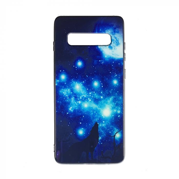Husa Samsung S10 Plus silicon cu sticla lup 0