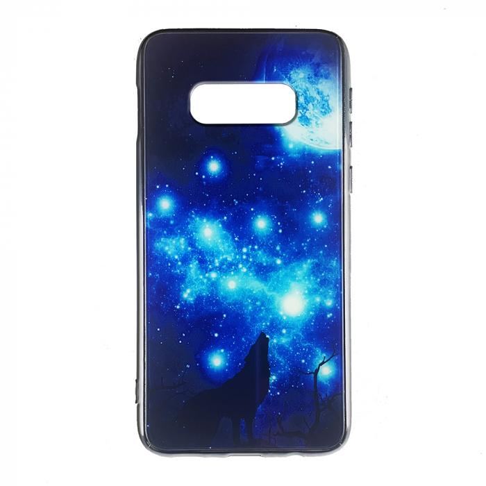 Husa Samsung S10e silicon cu sticla lup 0