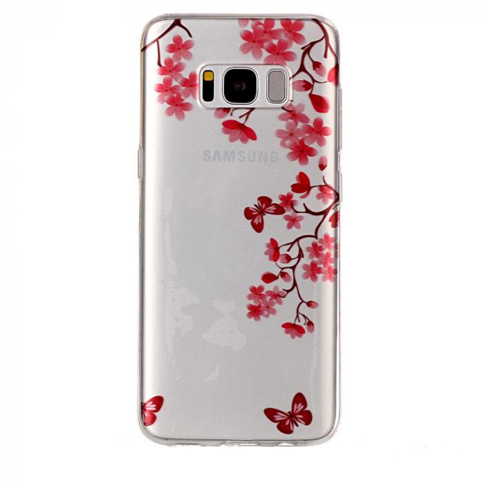 Husa Samsung S8 plus silicon crengi 0