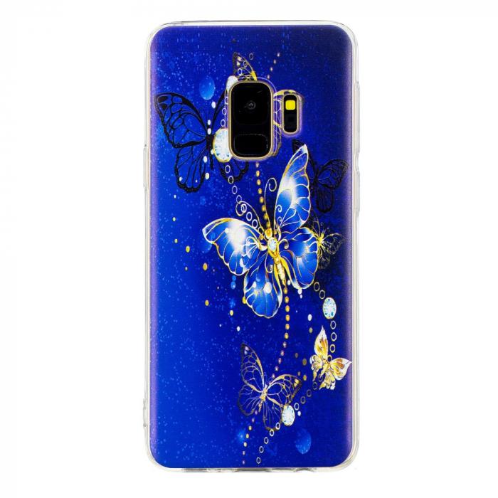 Husa Samsung S9 silicon fluture 0