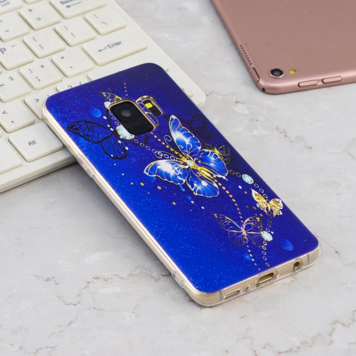 Husa Samsung S9 silicon fluture 1