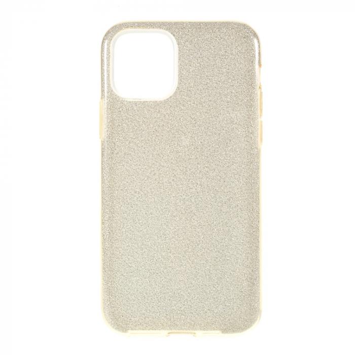 Husa silicon 3 in 1 cu sclipici Iphone 11 Pro - Gold [0]