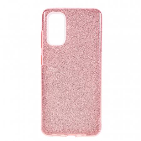 Husa silicon 3 in 1 cu sclipici Iphone 7 -Rose 0