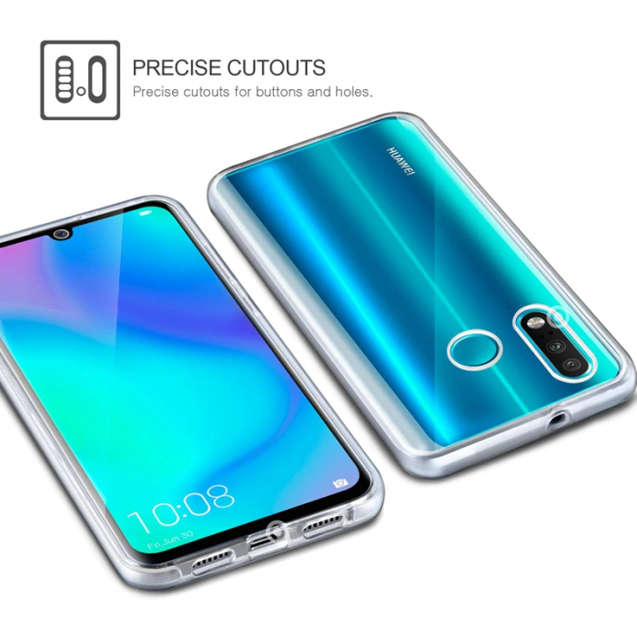 Husa silicon 360 fata+spate Huawei Y6 (2019) 1
