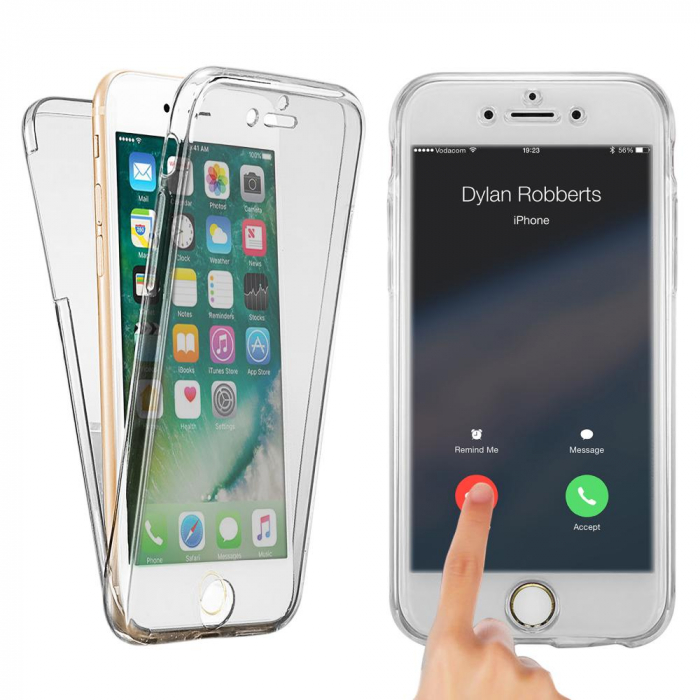 Husa silicon 360 fata+spate Iphone 7/8 0