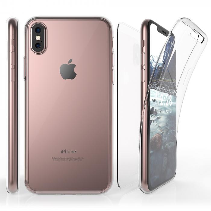 Husa silicon 360 fata+spate Iphone X/Xs [0]
