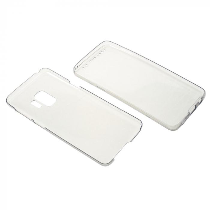 Husa silicon 360 fata+spate Samsung S9 1