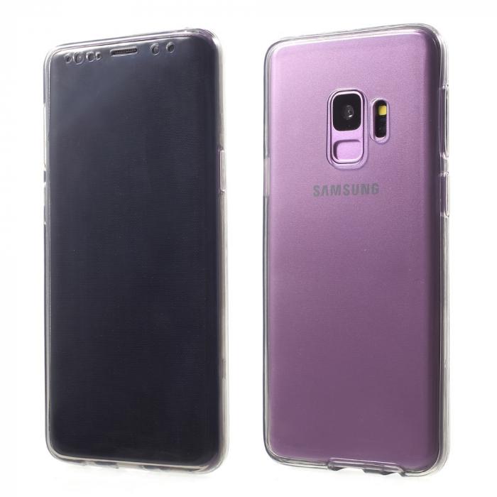 Husa silicon 360 fata+spate Samsung S9 plus 0