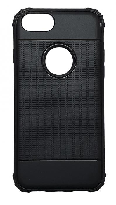 Husa silicon anti shock cu striatii Iphone 8 plus, Albastru 1