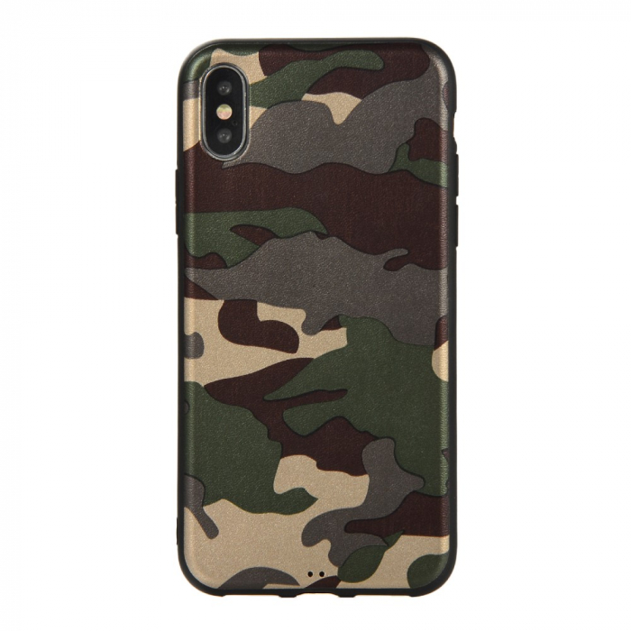 Husa silicon army Iphone X/Xs 0