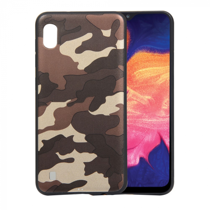 Husa silicon army Samsung A10, Maro 0