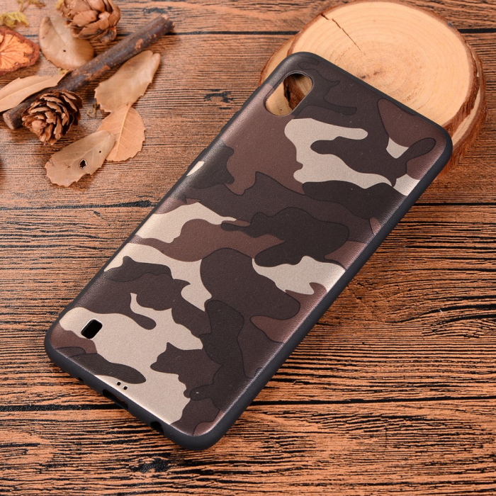 Husa silicon army Samsung A10, Maro 1
