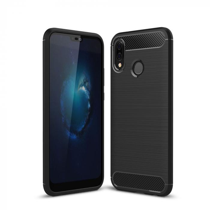 Husa silicon carbmat Huawei P20 Lite [0]