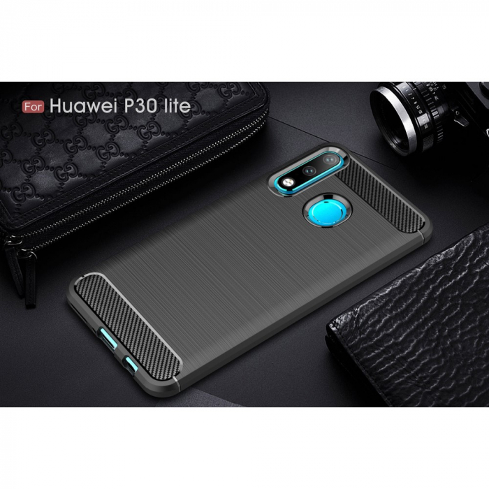 Husa silicon carbmat  Huawei P30 Lite [1]