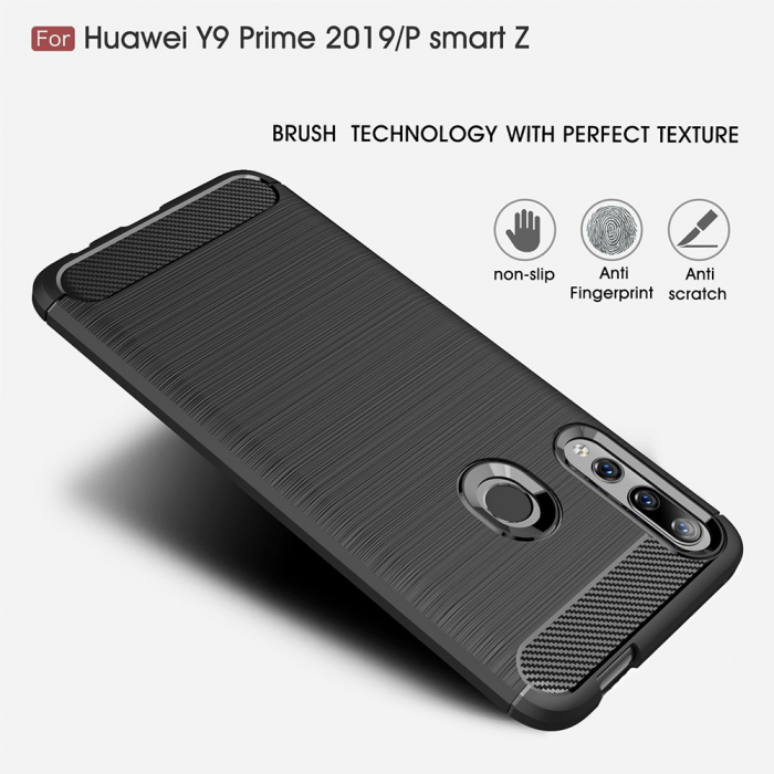 Husa silicon carbmat Huawei Psmart Z 1