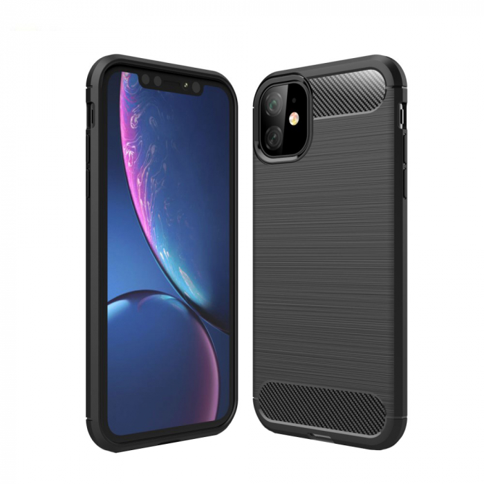 Husa silicon carbmat Iphone 11 Pro 0