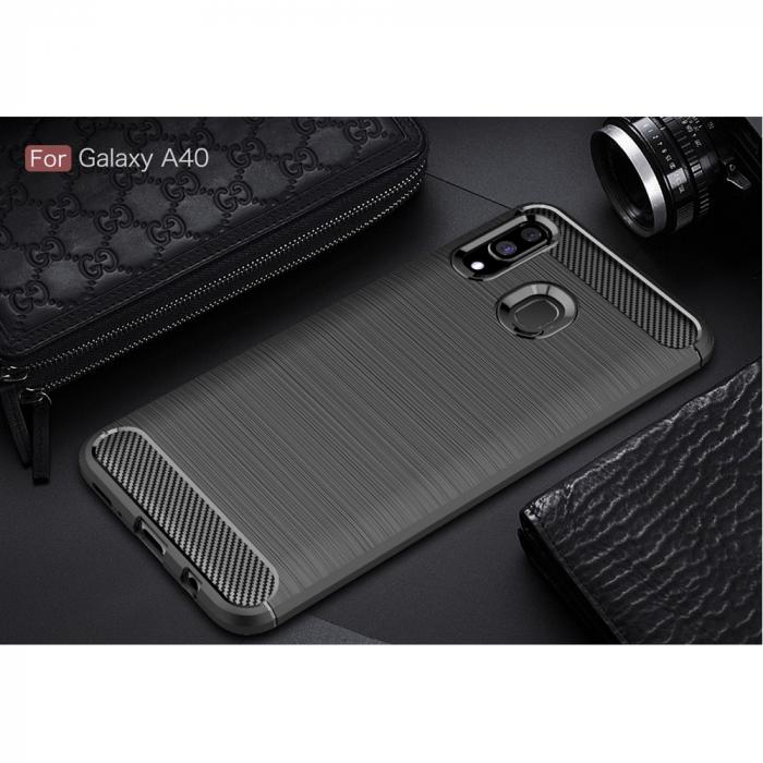 Husa silicon carbmat Samsung A40 2