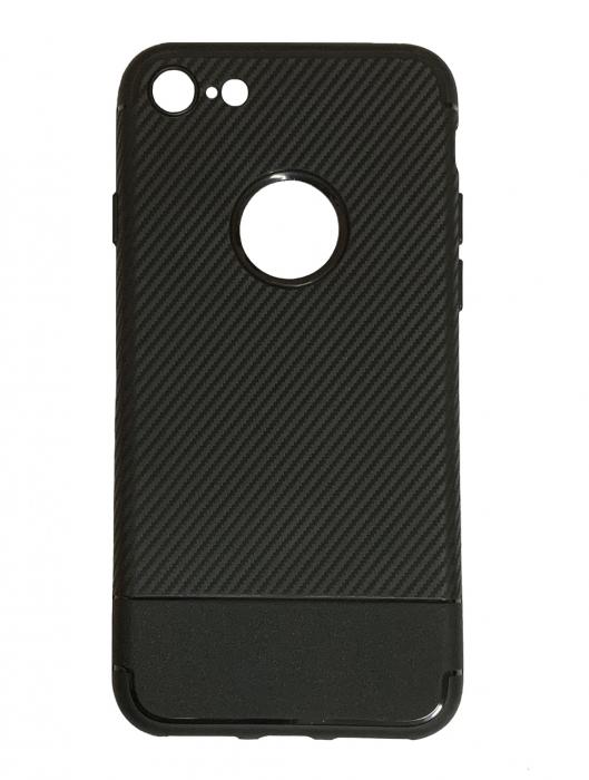 Husa silicon carbon 2 Iphone 8 - 3 culori 0