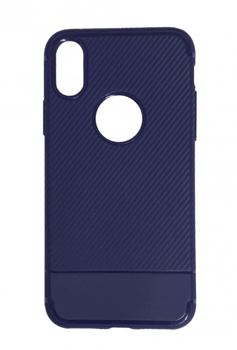 Husa silicon carbon 2 iphone X/Xs - 3 culori 0