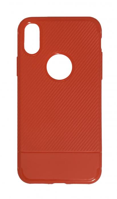 Husa silicon carbon 2 iphone X/Xs - 3 culori 1