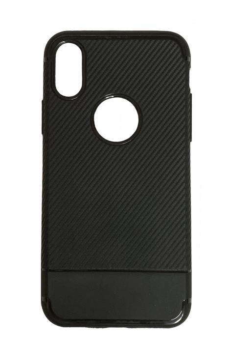 Husa silicon carbon 2 iphone Xr - 3 culori 3