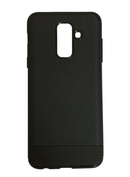 Husa silicon carbon 2 Samsung A6 plus (2018) - 3 culori 0