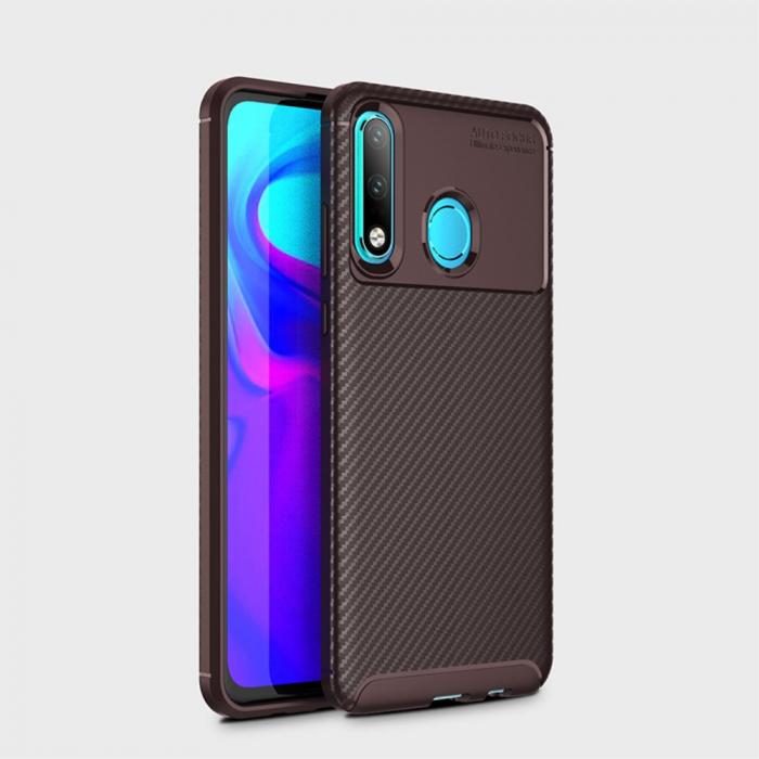 Husa silicon carbon 4 Huawei Psmart Z - Maro 1