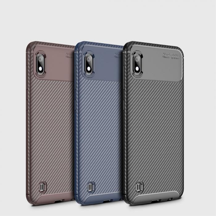 Husa silicon carbon 4 Samsung A10 - 3 culori 0