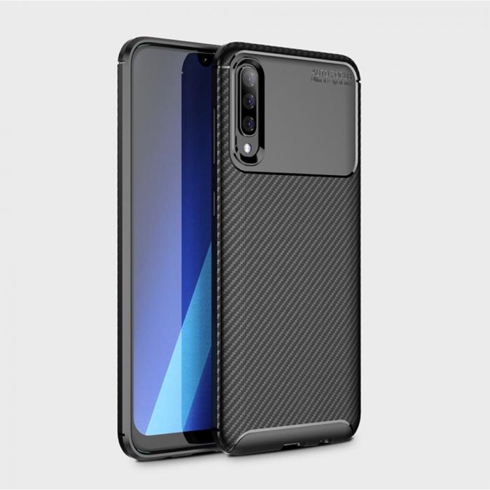 Husa silicon carbon 4 Samsung A70 - 3 culori 1