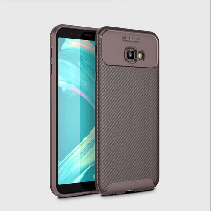 Husa silicon carbon 4 Samsung J4 plus (2018) - Maro 1