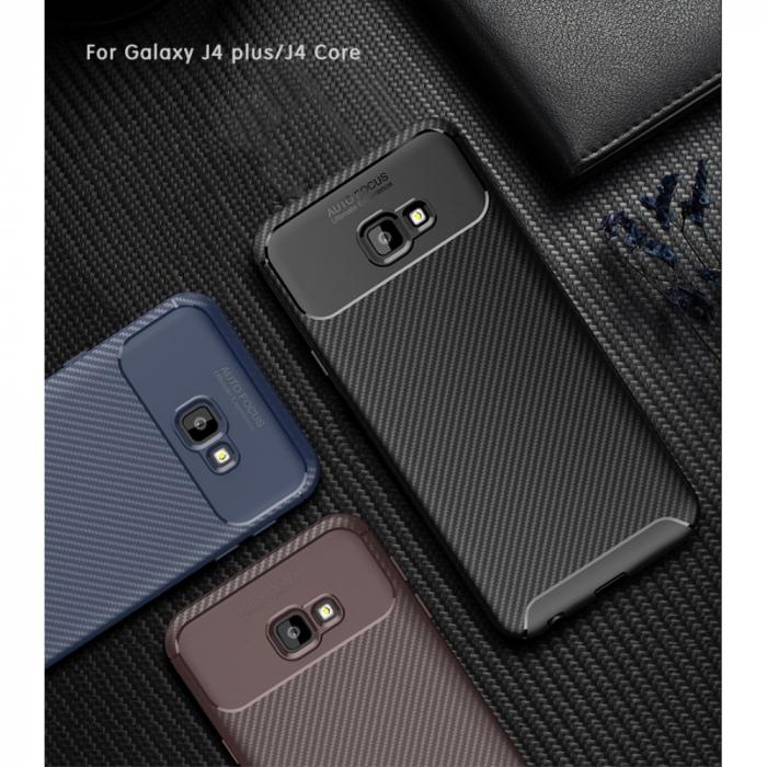 Husa silicon carbon 4 Samsung J6 plus (2018) - 3 culori 0