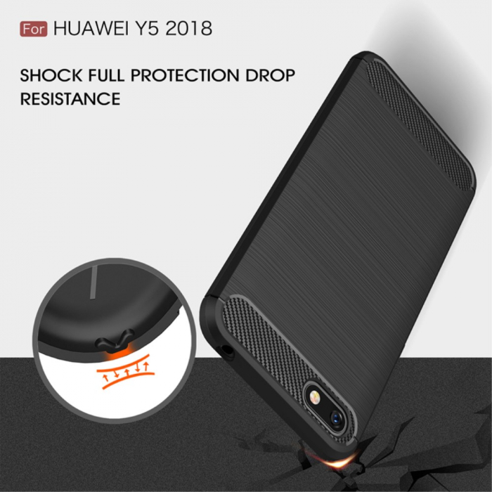 Husa silicon carbmat Huawei Y5 (2018) 1