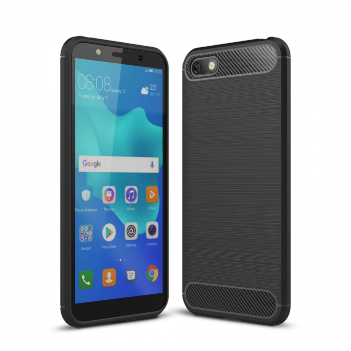 Husa silicon carbmat Huawei Y6 (2018) 0