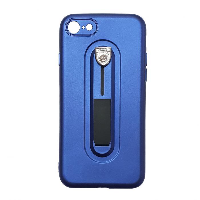 Husa silicon cu suport Iphone 7/8, Albastru 0