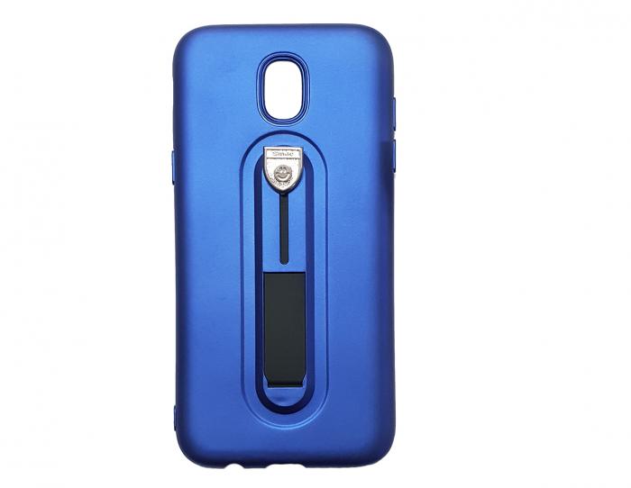 Husa silicon cu suport Samsung J5 (2017) - Albastru 0