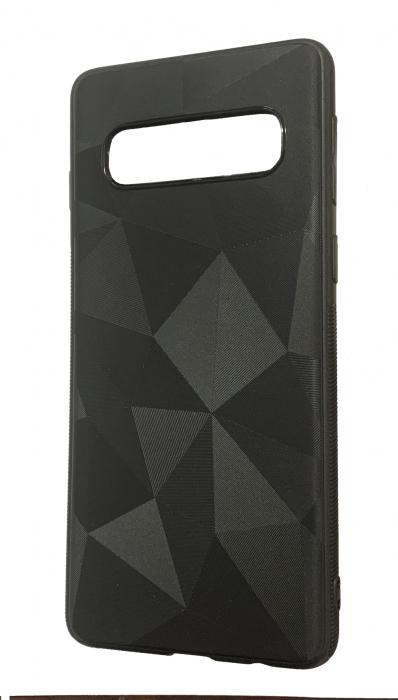Husa silicon diamant mat Samsung S10e - negru 0