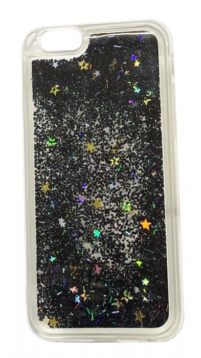 Husa silicon lichid-sclipici Iphone 5/5s - 5 culori 2