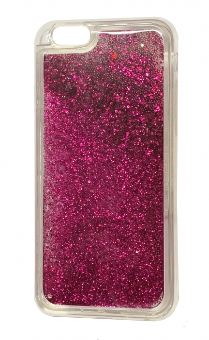 Husa silicon lichid-sclipici Iphone 5/5s - 5 culori 1