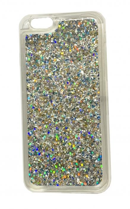 Husa silicon lichid-sclipici Iphone 6/6s - 6 culori 4