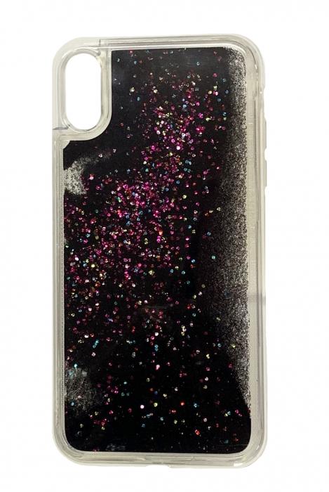 Husa silicon lichid-sclipici Iphone Xr - 5 culori 1