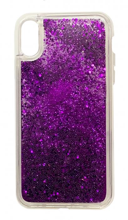 Husa silicon lichid-sclipici Iphone Xs Max -  5 culori 3
