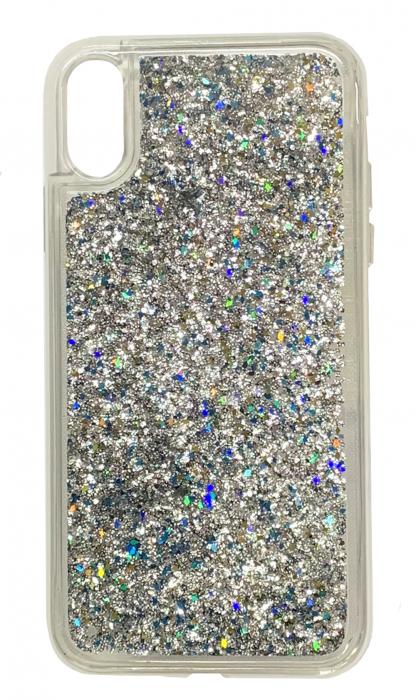 Husa silicon lichid-sclipici Iphone Xs Max -  5 culori 4