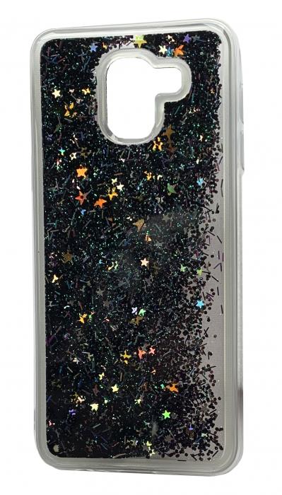 Husa silicon lichid-sclipici Samsung A6 (2018) - 6 culori 2