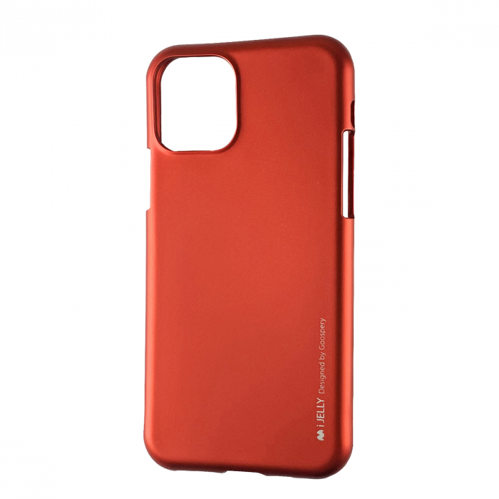Husa silicon Goospery metal I-Jelly Iphone 11 Pro, Rosu [0]